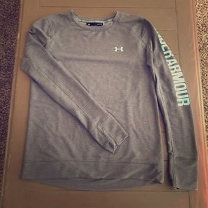 Under armour workout sweater